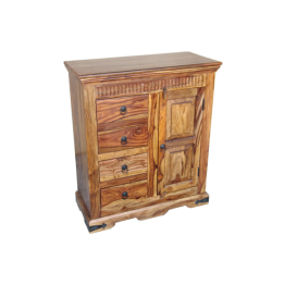 Indian.Sideboard 4drw 1dr.MED