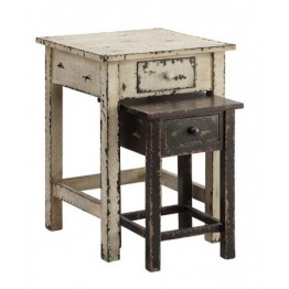 Distressed Nest Two Chest Table