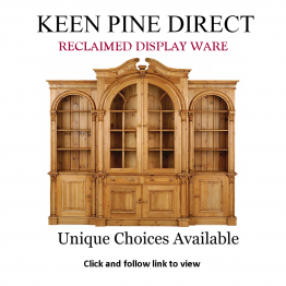 Advert: Keen Pine Direct Reclaimed Display Cabinets
