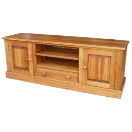 Rustic Pine Plasma Video Cabinet