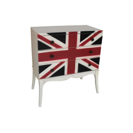 Union Flag 3 Drawer Chest
