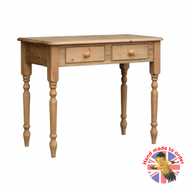 Cottage Pine 2 drawer side table