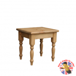 Cottage Pine solid wood top stool
