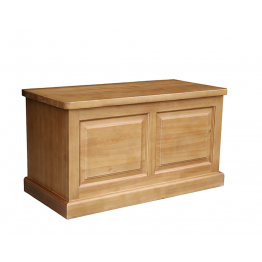 York Pine Bedroom Blanket - Storage Box