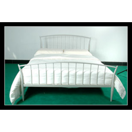 3ft Little Lilly metal bed in silver finish