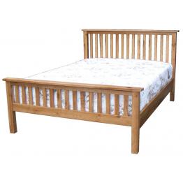 3ft Single Avon / Rustic Oak Bed