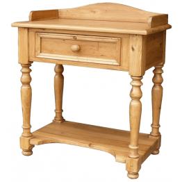 Antique Pine Telephone Table