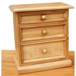 Antique Pine Trinket Box (Large)