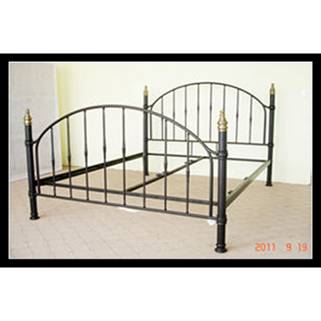 """4ft 6"""" Daisy Metal Bed (Double)"""