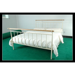 "4ft 6"" Gemma metal bed (Double)"