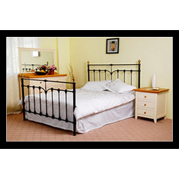 "4ft 6"" Katie metal bed (Double)"