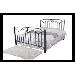 5ft Rose Metal Bed (Kingsize)