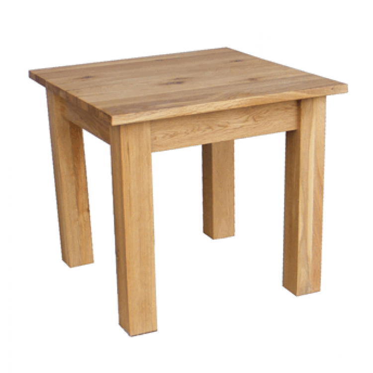 Rustic Oak Coffee Table Small