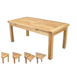Somerset Oak 122 Draw-Leaf Table