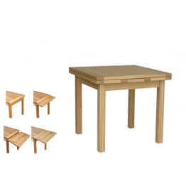 Oak Dining 90 Draw-Leaf table